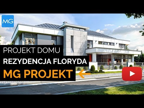 Projekt domu Rezydencja Floryda - MGProjekt Projekty Domów