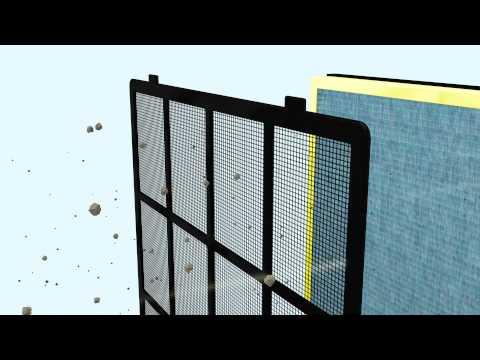 BONECO P500 Air Purifier: System animation of BONECO healthy air
