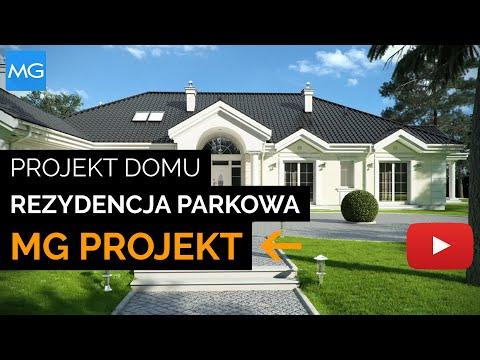 Projekt domu Rezydencja Parkowa - MGProjekt Projekty Domów