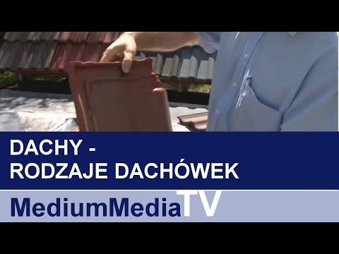 DACHY - Rodzaje dachówek