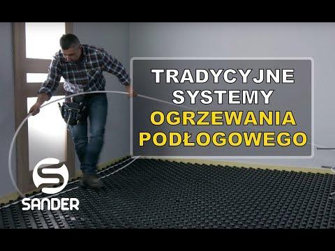 Tradycyjne ogrzewanie podłogowe / system mokry podłogówki