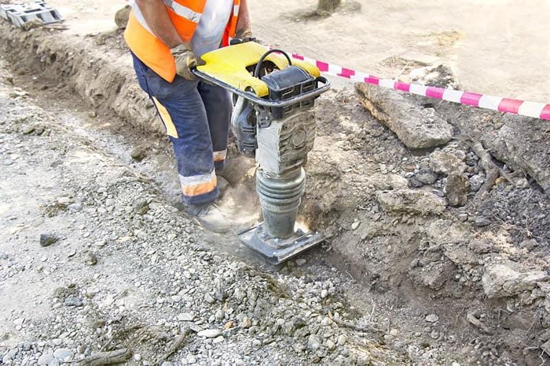 Przygotowanie gruntu pod fundamenty