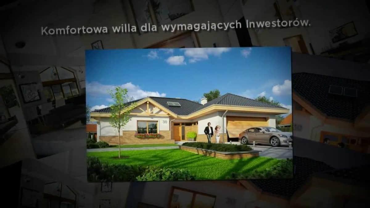 MGProjekt - Projekt domu Rozłożysty