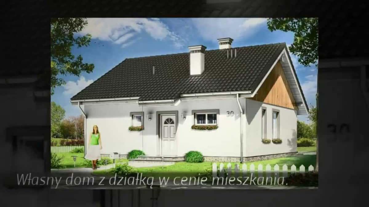 Projekt domu Zosia: nowy projekt z pracowni MGProjekt