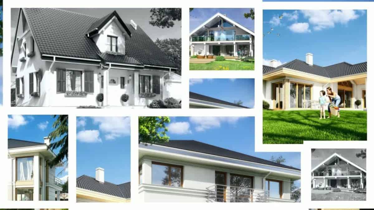 MGProjekt - Projekty domów