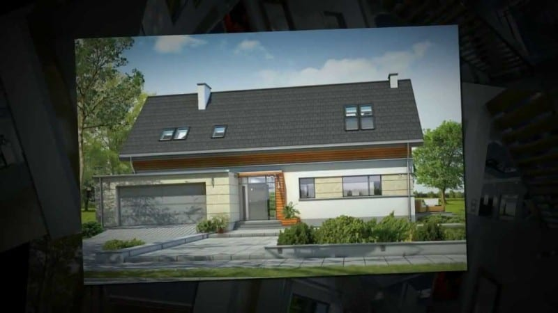 Projekt domu Gala - willa dla 4-6 osób.