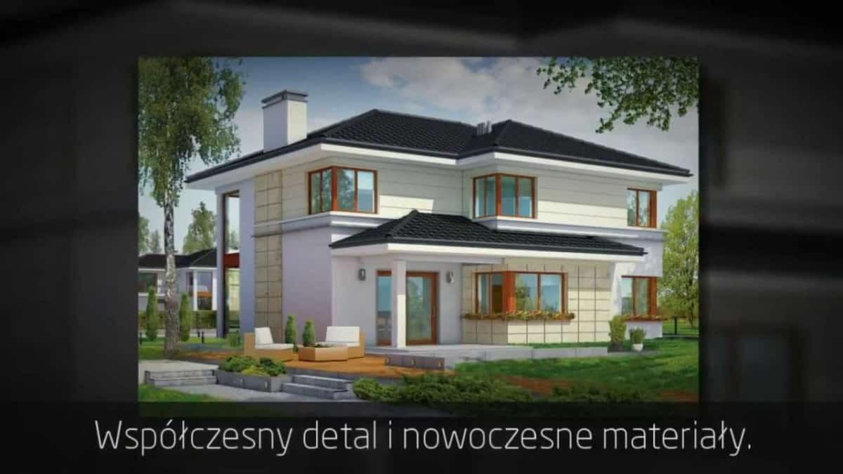 Projekt domu Riwiera - idealny piętrowy dom?