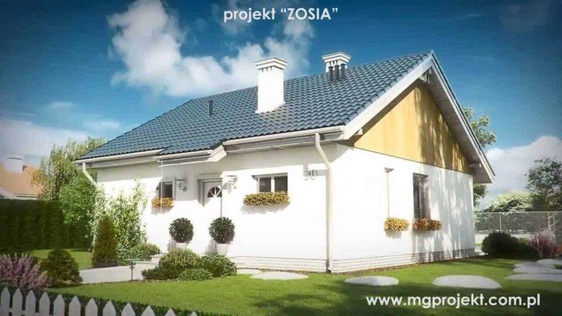 zosia maly domek ktory zmiesci sie na kazdaj dzialce blog budowlany mg projekt 800x450 - Projekt ogrodu dla domu Zosia