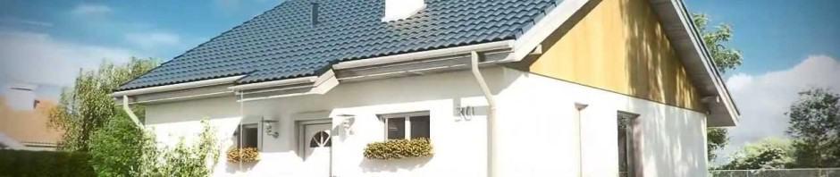 Zosia - mały domek, który zmieści się na każdaj działce.