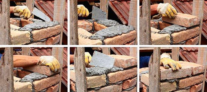 murowanie scian - cegly