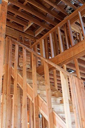Błędy na budowie domu - schody