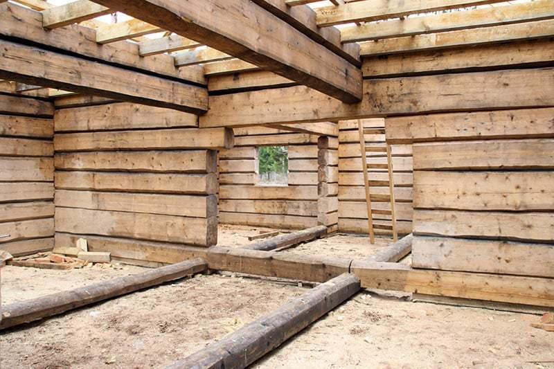 Rodzaje bali drewnianych