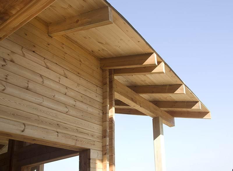 Drewno do budowy domu z bala drewnianego
