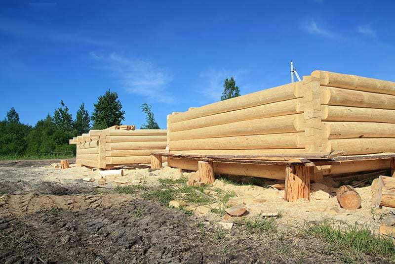 Drewno na dom z bali
