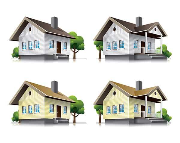 domy w stylu
