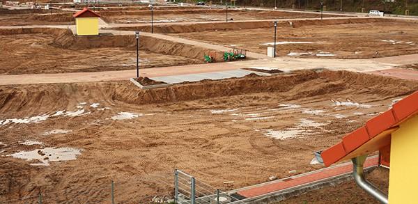 Wielkość działki pod budowę domu