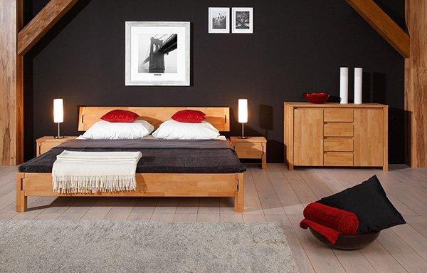 lozko sypialnia na poddaszu kolekcja KOLI
