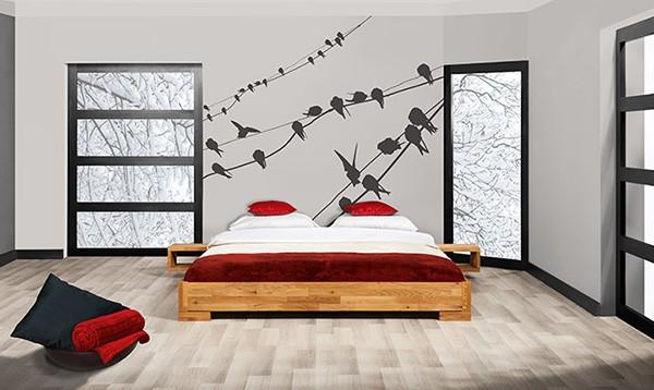 lozko sypialnia na poddaszu vento bez zagłowka