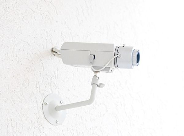 Kamery są częścią systemu alarmowego w domu