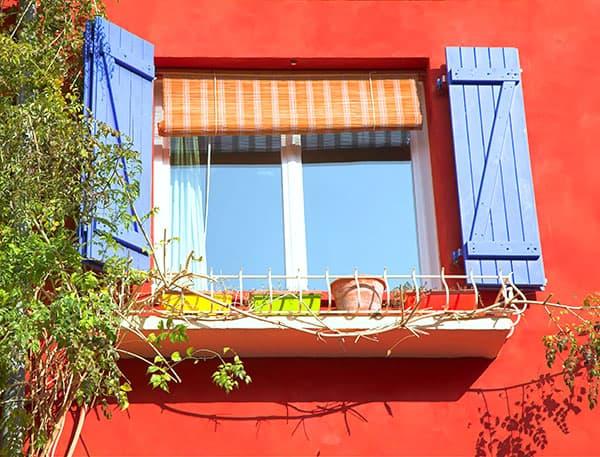 okiennice w domu
