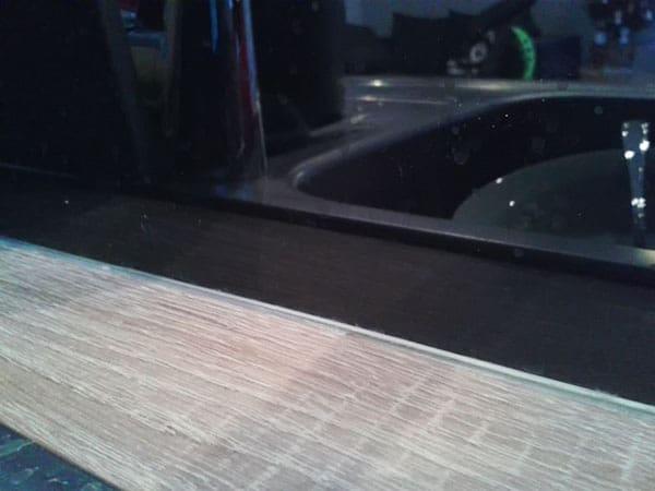 szkło lacobel w kuchni