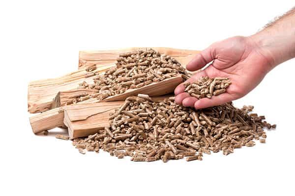 kociol pelet biomasa zrebki