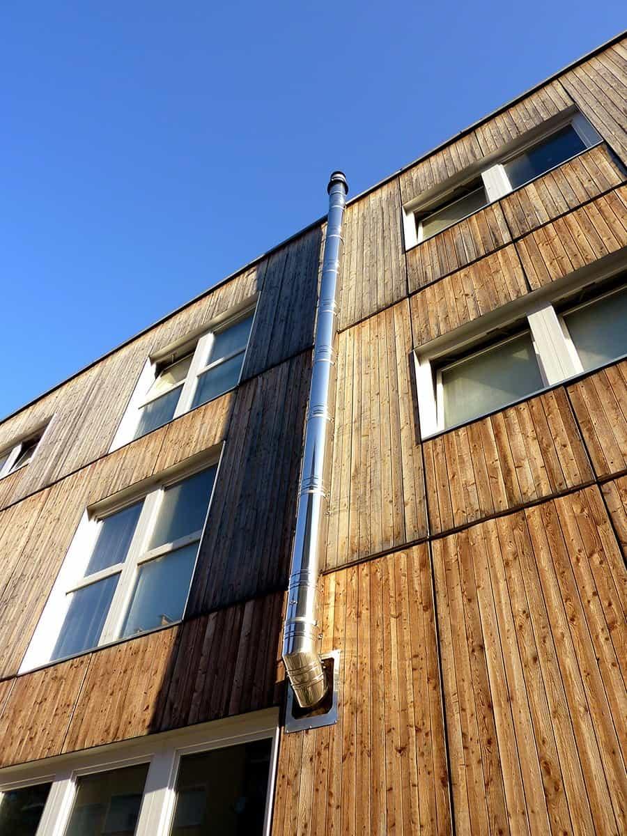 Panele elewacyjne drewniane