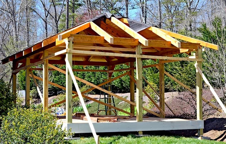 Altana Ogrodowa Projekt Koszt I Budowa Altany Krok Po Kroku