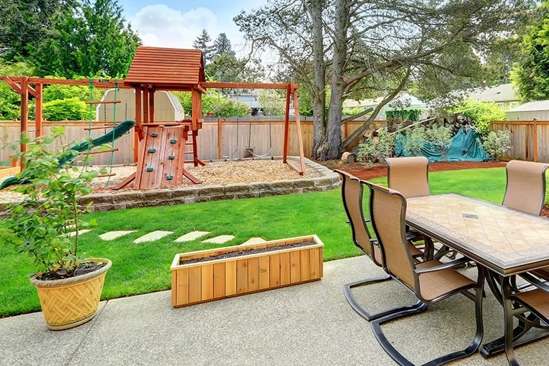 Gdzie ustawić plac zabaw dla dzieci?