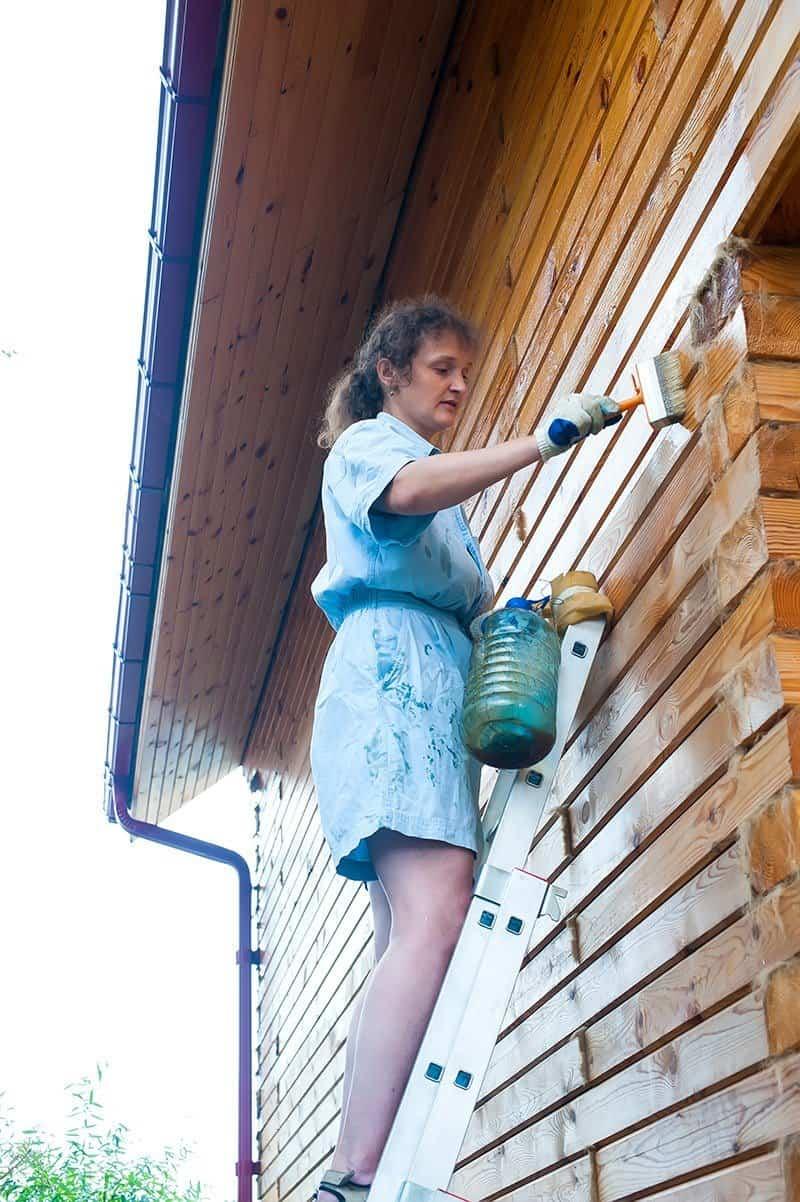 Impregnacja domu z drewna