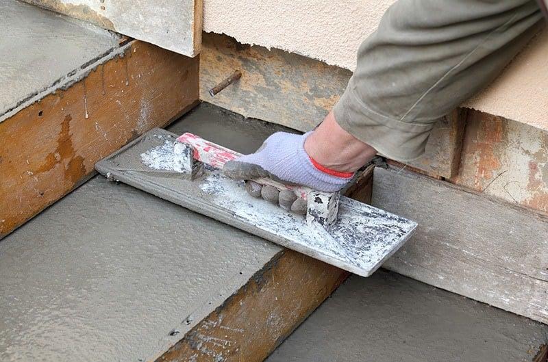 Budowa schodów z betonu