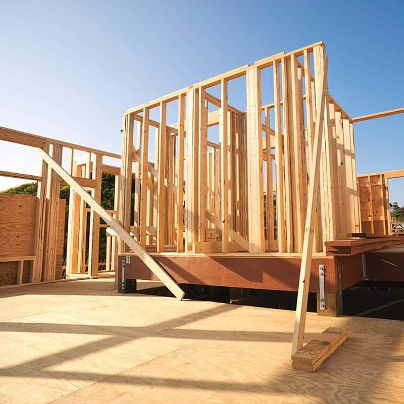 Konstrukcja drewnianego domu