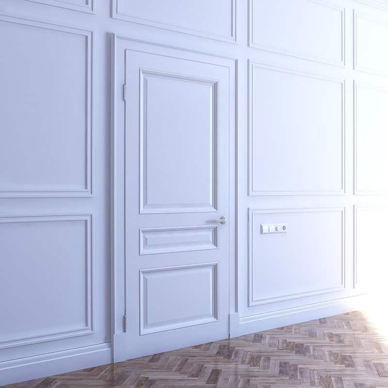 Tłoczenia w drzwiach wewnętrznych