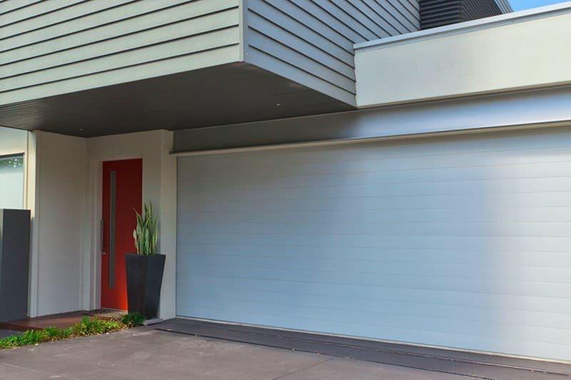 Nowoczesna brama garażowa