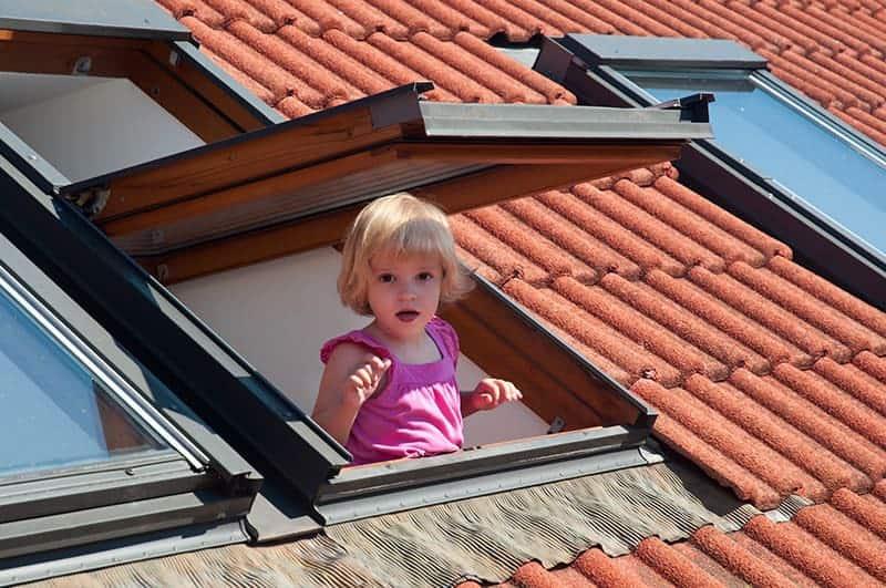 Okna dachowe do pokoju dziecięcego