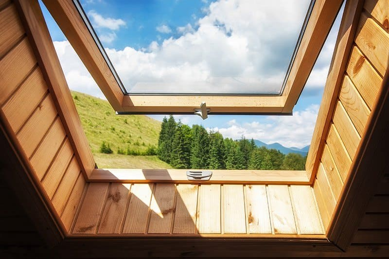 Okna dachowe obrotowo-uchylne