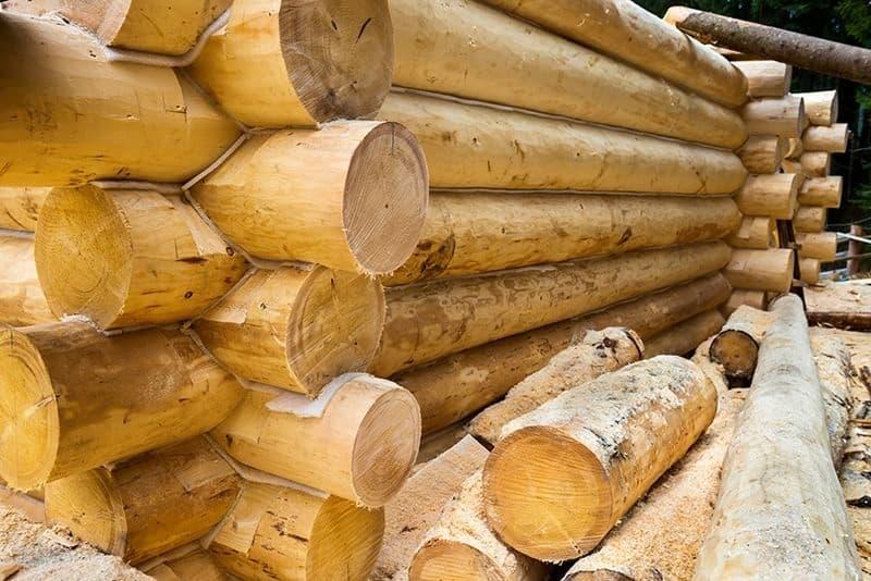 Domy drewniane są ciepłe