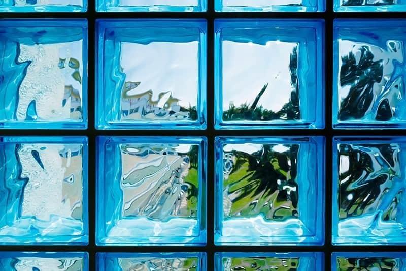 Kolory pustaków ze szkła