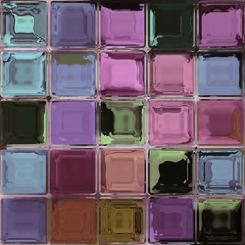 Ścianka z pustaków szklanych