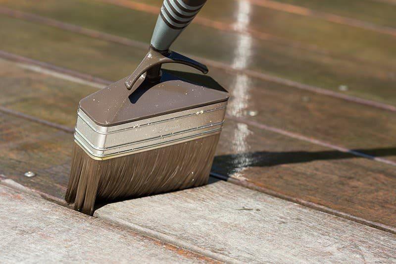 Taras drewniany impregnacja