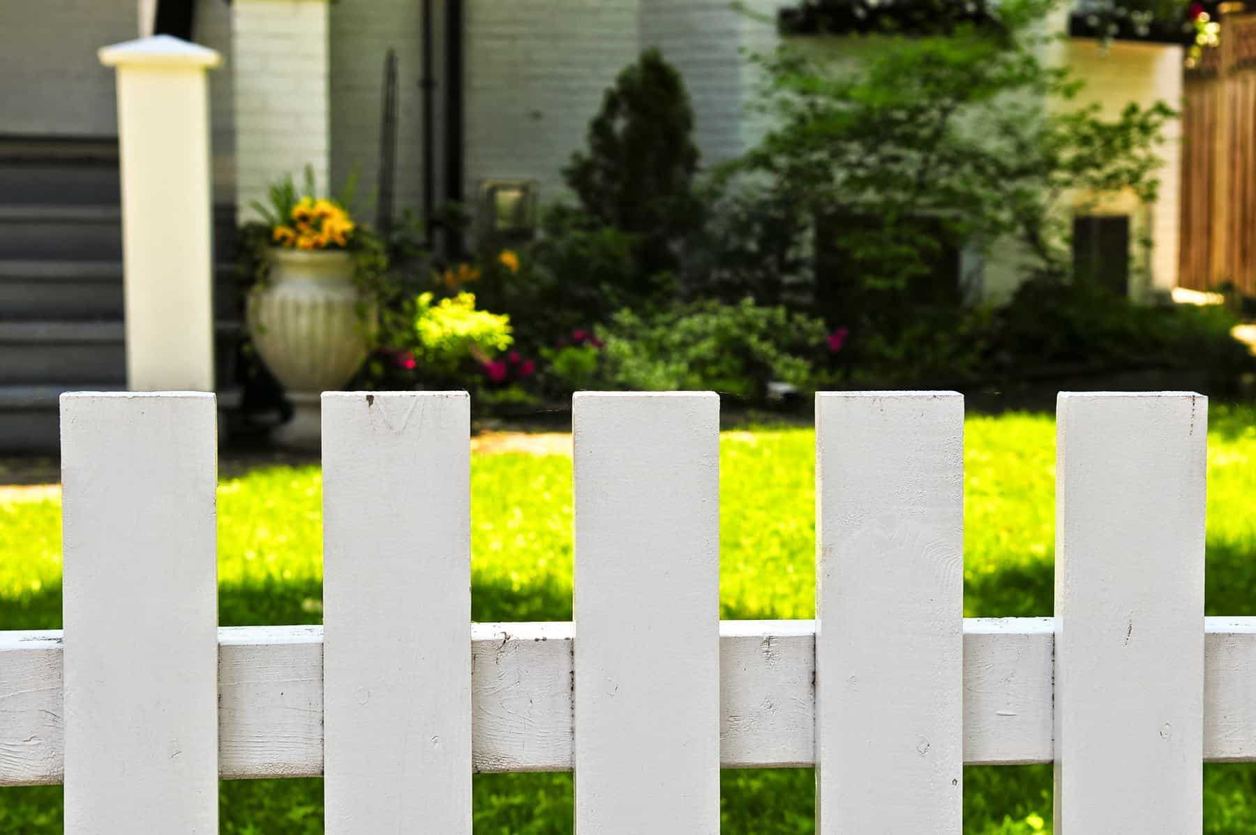 Ogrodzenie wokół domu