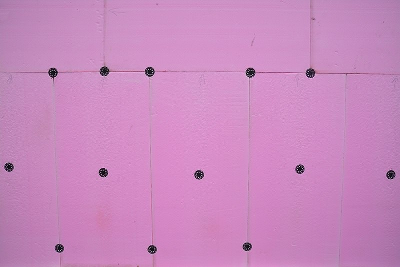 Styropian różowy