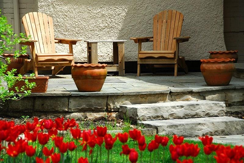 Gdzie postawić meble ogrodowe