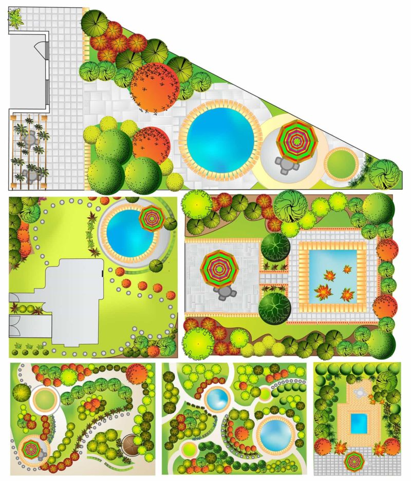 projekt ogrodu 800x935 - Projekt ogrodu: cena i projektowanie ogrodu [krok po kroku]