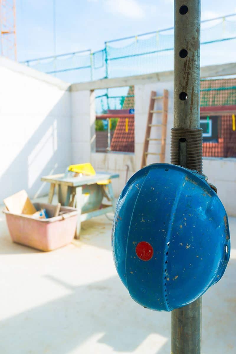 Murowanie z bloczków lub cegieł silikatowych