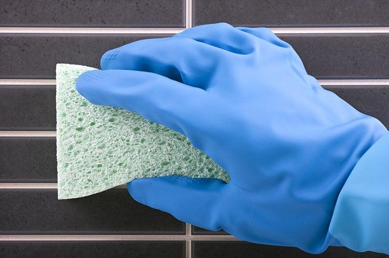 Odporność kafelków na detergenty