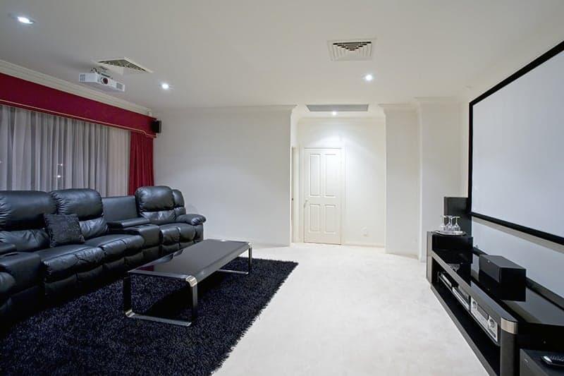 Sala kinowa w domu