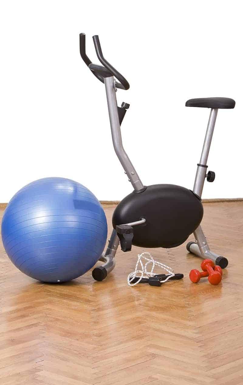 Wyposażenie domowej siłowni