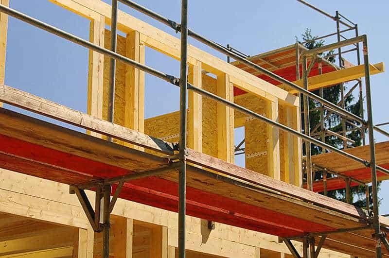 Drewniany dom całoroczny