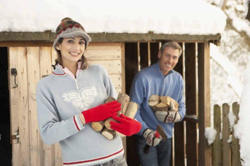 Drewutnia przy domu: projekt, cena i wykonanie drewutni ogrodowej